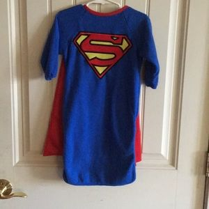A newborn Superman costume